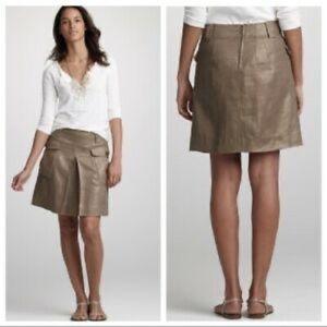 J CREW Bronze Shimmer Skirt
